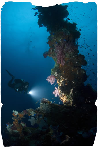 Diving Chuuk Lagoon
