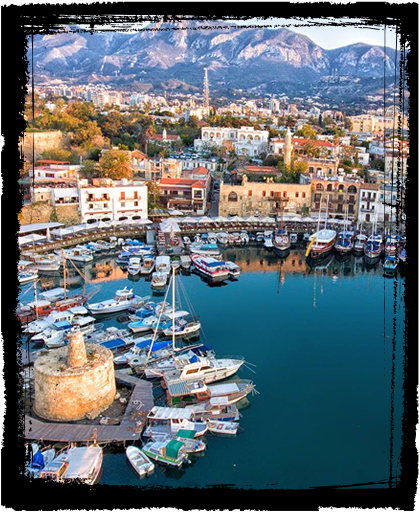 Girne old harbour, North Cyprus
